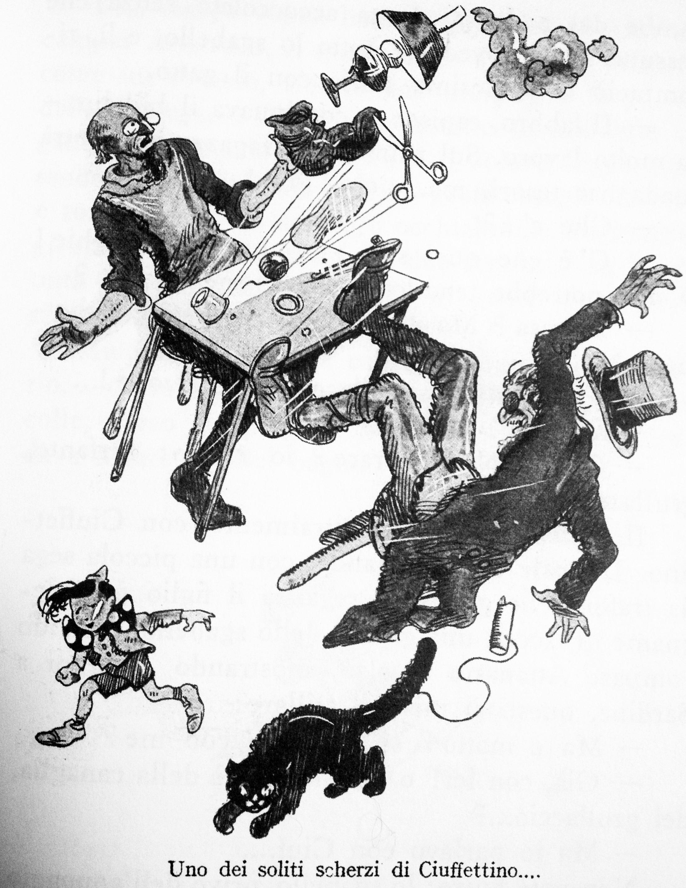 Illustrazione di Yambo (Enrico Novelli)