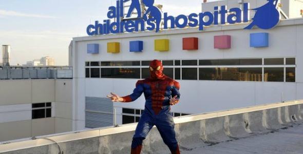 supereroi ospedale
