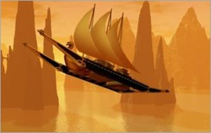 nave volante di shannara