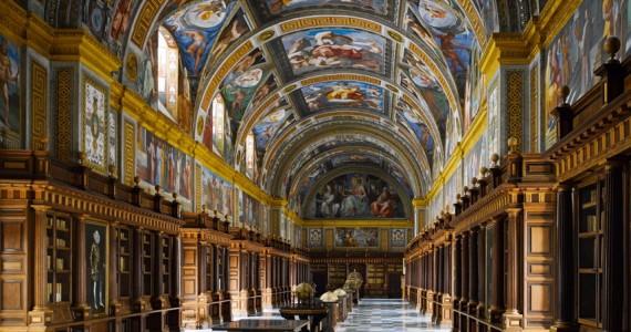 Escorial library, Spagna