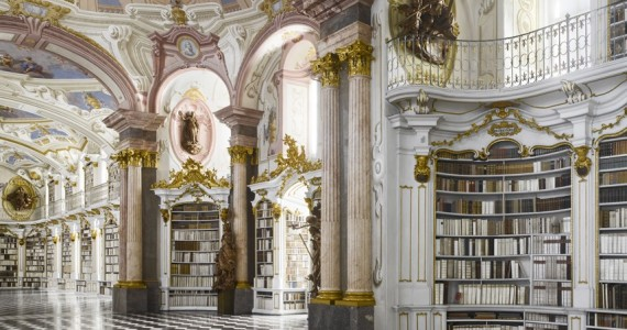 Admont abbey library, Austria
