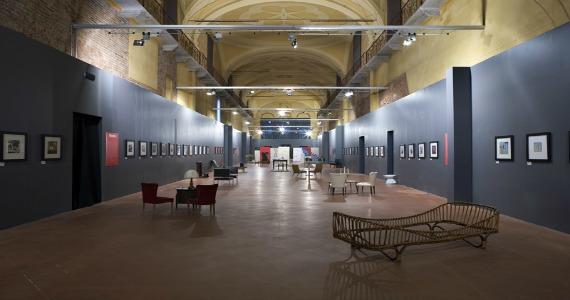 elogio della pigrizia - mostra di Guido Scarabottolo - Cremona 2010