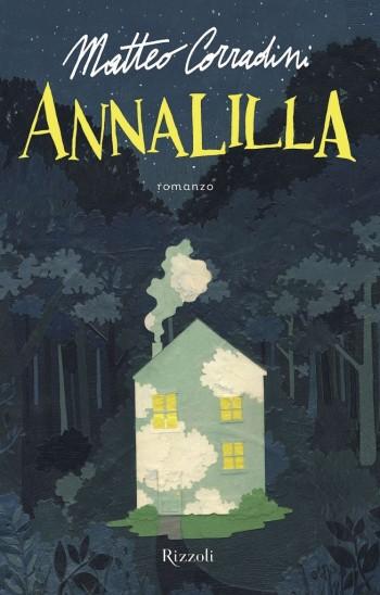 """Copertina del romanzo """"Annalilla"""" di Matteo Corradini"""