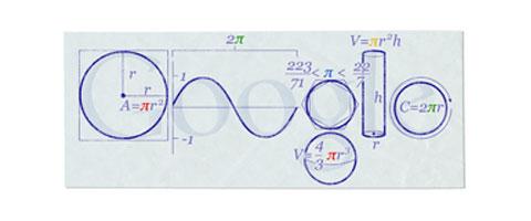 Pi-Greco-Doodle-Google