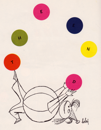 """A kiss is round"", Blossom Budney, ill. Vladimir Bobri (1954)"