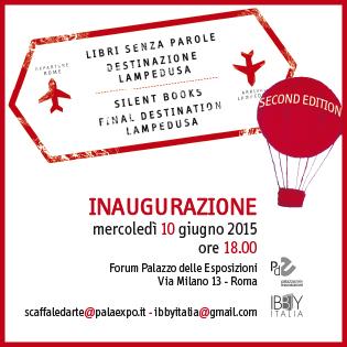 invito_inaugurazione_Mostra_SilentBook2015