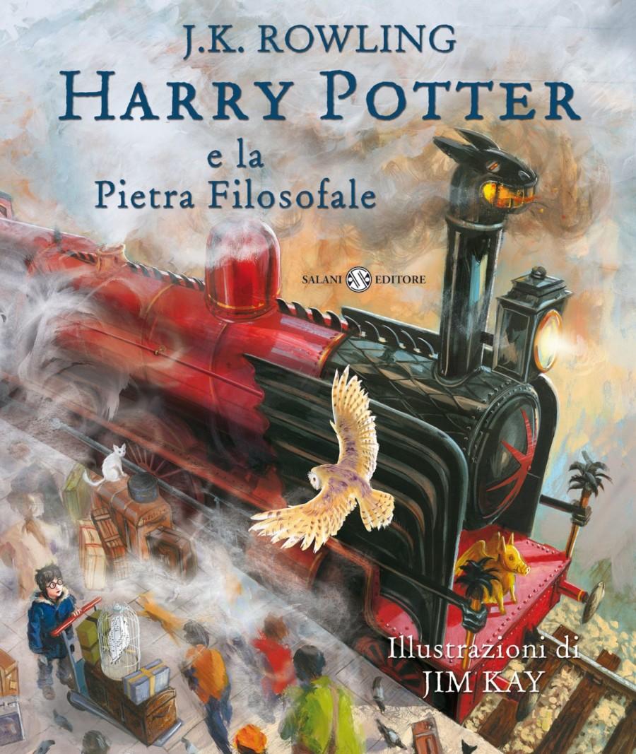 Harry Potter e la pietra filosofale illustrato da Kim Kay