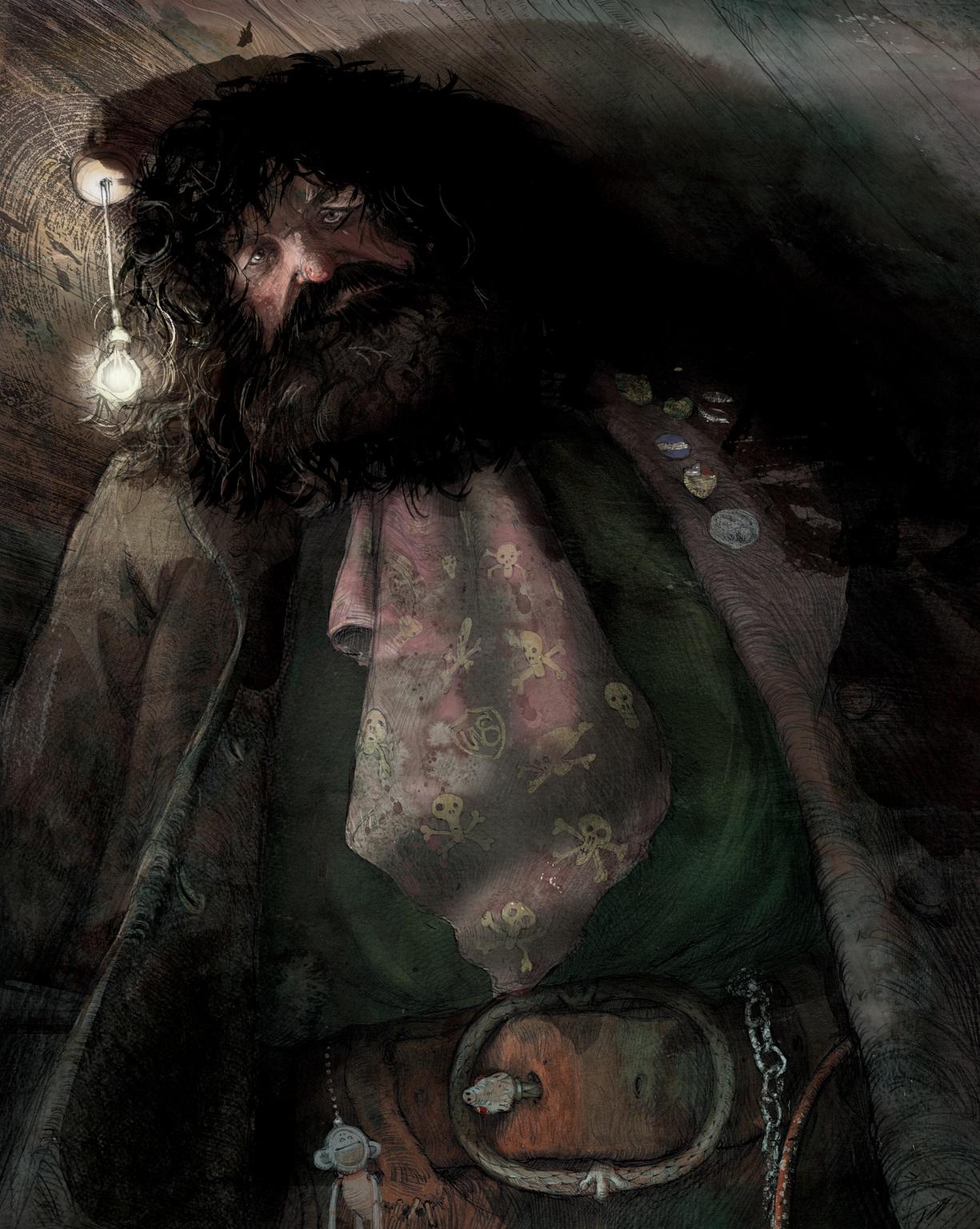 Hagrid, Jim Kay