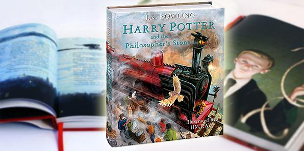 Harry Potter nuoa edizione illustrata da Jim Kay