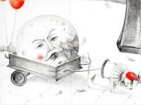 il cane e il carretto della lunaù