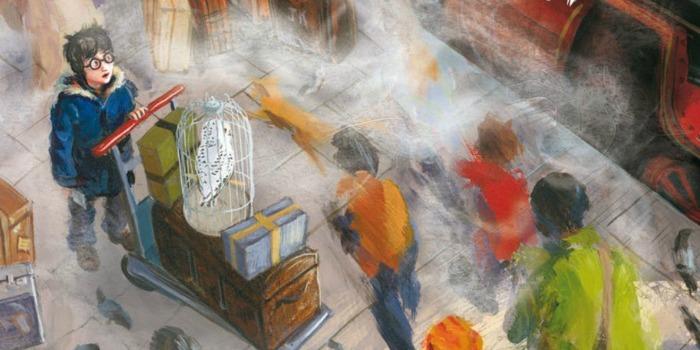 Jim Kay illustra Harry Potter
