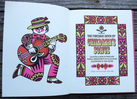 The Fireside Book of Children's Songs, illustrazioni di John Alcorn