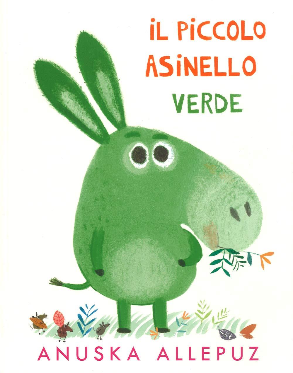 il piccolo asinello verde-lapis