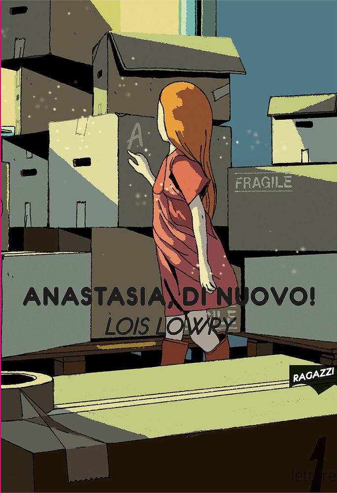 Anastasia di nuovo! - 21lettere copertina